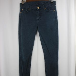 7 For All Mankind Gwenevere Skinny Jean Size 27